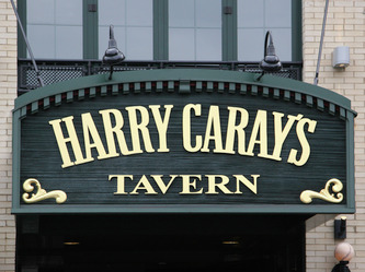 Image shows Harry Caray's Tavern Facade Sign Wrigleyville Chicago,IL