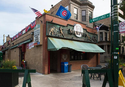 Image of Murphys Bleachers Sign, Murphys Bleachers Sign Wrigleyville, Murphys Bleachers Sheffield
