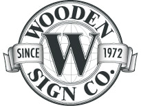 The Wooden Sign Company - Specialty Sign Business and Makers of custom, sandblasted, gold leafed, hand carved wooden Signs - Chicago, IL - Elkhorn, Wisconsin